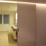 Durchgang Schlafzimmer zum Badezimmer